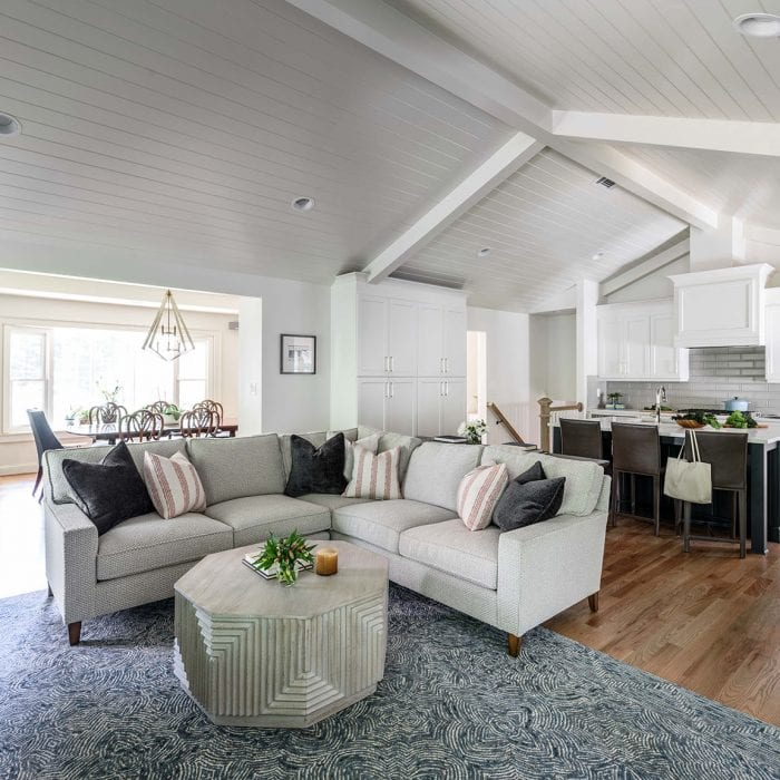 Living Room designed by Alexis Taylor Interiors