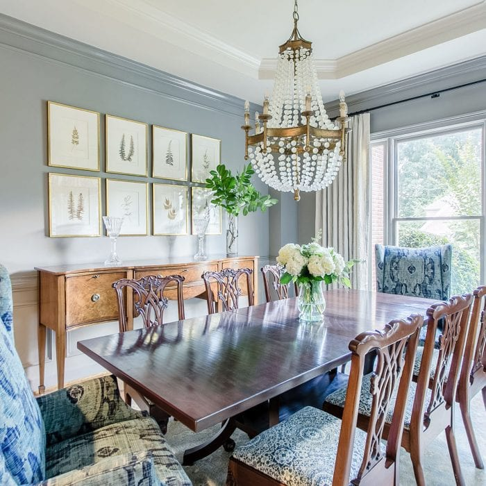 Dining Room designed by Alexis Taylor Interiors