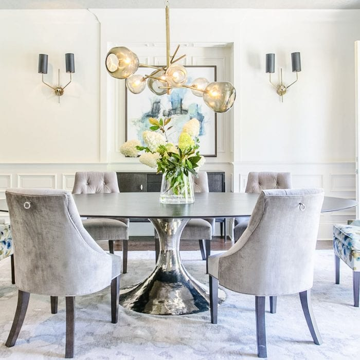 Tritt Dining designed by Alexis Taylor Interiors