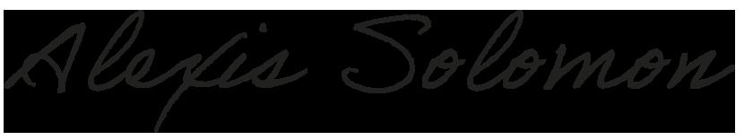 Alexis Solomon Signature