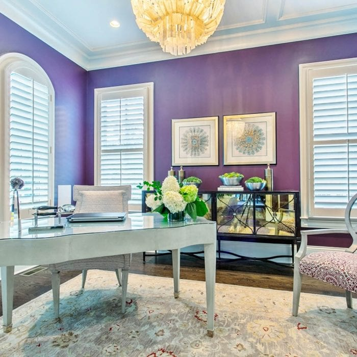 Tritt Office Designed by Alexis Taylor Interiors